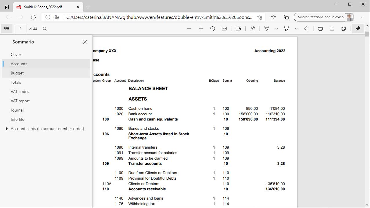 créer dossier pdf